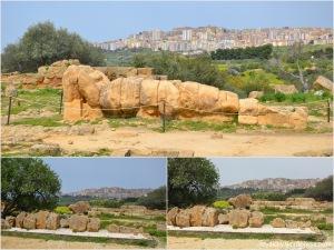 Agrigento_Valle dei templi_Tempio di Zeus (Giove) Olimpico