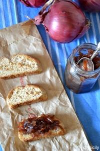 Food_Bruschette_Marmellata di cipolle rosse