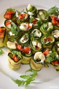 Food_Involtini di zucchine