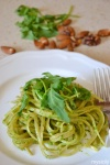 Food_Pasta con pesto di rucola