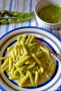 Food_Pasta_pesto di fave