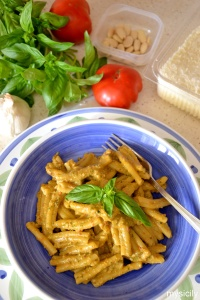 Food_Pasta_pesto siciliano
