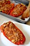 Food_peperoni ripieni di riso e carne