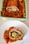 Food_Polpettone con uova e spinaci