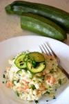 Food_Risotto con zucchine e gamberetti