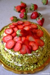 Food_Torta panna e fragole