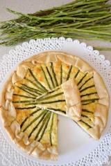 Food_Torta salata_Asparagi_ricotta