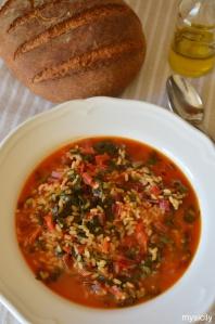 Food_Zuppa_Bietole da costa_riso