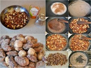 Food_Roasted almonds in sugar