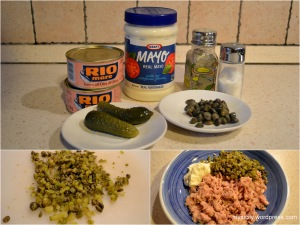 Food_Tuna pate with capers