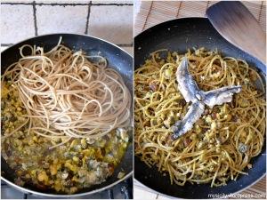 Pasta con le sarde e finocchietto (2)