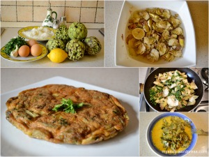 Food_Sicilian omlet with artichokes
