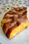Food_Sformato di risotto di zucca, speck e fontina