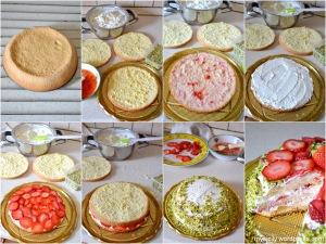 Torta_Pistacchio - fragole