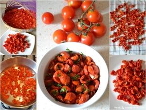 Pomodorini ciliegino sott'olio