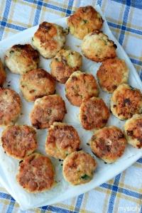 Food_Polpette di pollo e zucchine