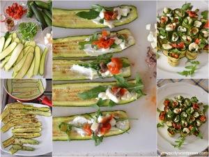 Involtini di zucchine