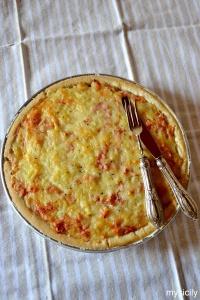 Food_Torta salata_Patate_prosciutto_formaggio