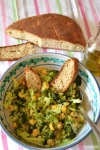 Food_Zuppa di ceci, broccoli, acciughe