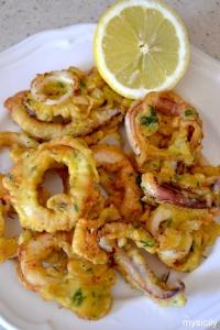 Food_Calamari fritti