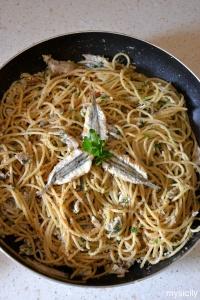 Food_Pasta_alici fresche_pangrattato