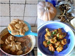 Gnocchi di zucca - patate_salsa di carne - funghi (1)