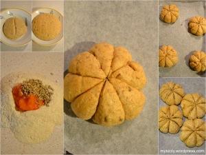 Panini alla zucca e semi di girasole (1)