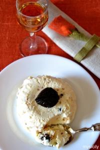 Food_Semifreddo_ricotta, mandorle, prugne secche
