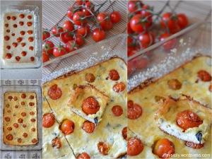 Torta salata  sformato_Pomodorini_formaggio (2)