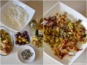 Insalata riso_verdure grigliate