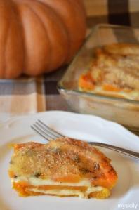 Food_Parmigiana di zucca_provola affumicata