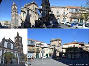 Randazzo_Castello Svevo e Chiesa S.Martino