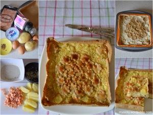 Torta salata_Salmone affumicato_patate