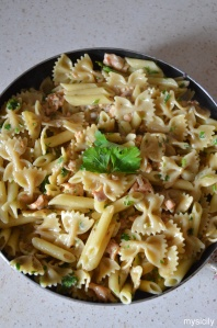 Food_Pasta_salmone affumicato