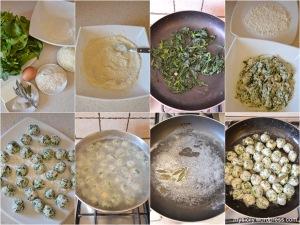 Gnocchi di spinaci e ricotta. Gnudi (1)