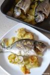 Food_Orata al forno_patate