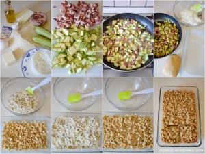 Sbriciolata salata_ricotta_zucchine_speck