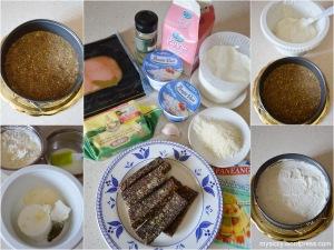 Cheesecake salata_formaggio_salmone