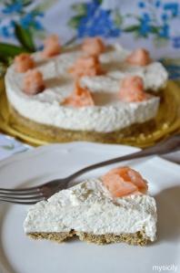 Food_Cheesecake salata_formaggio_salmone affumicato