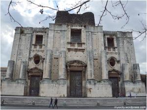 Catania_Chiesa San Nicolo l'Arena